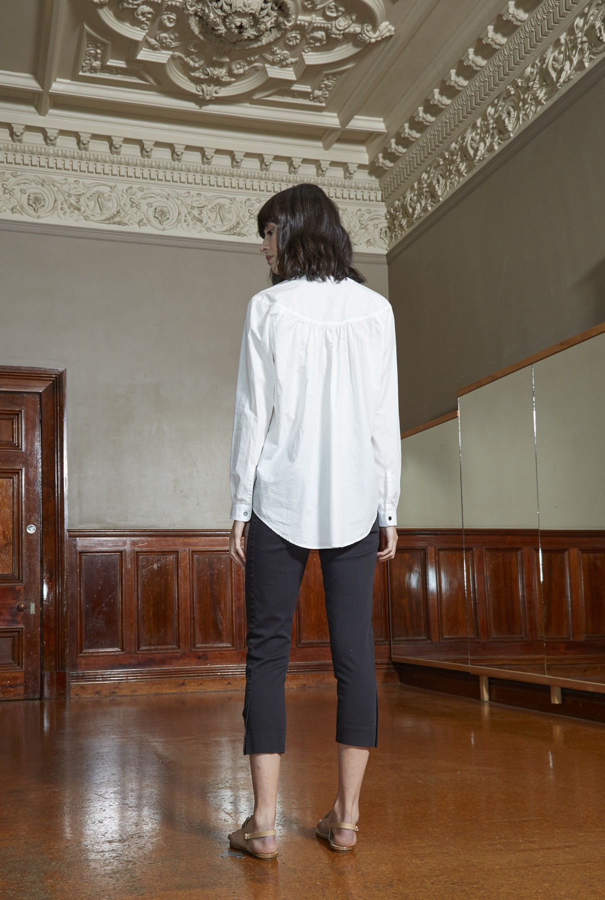 high noon shirt/white