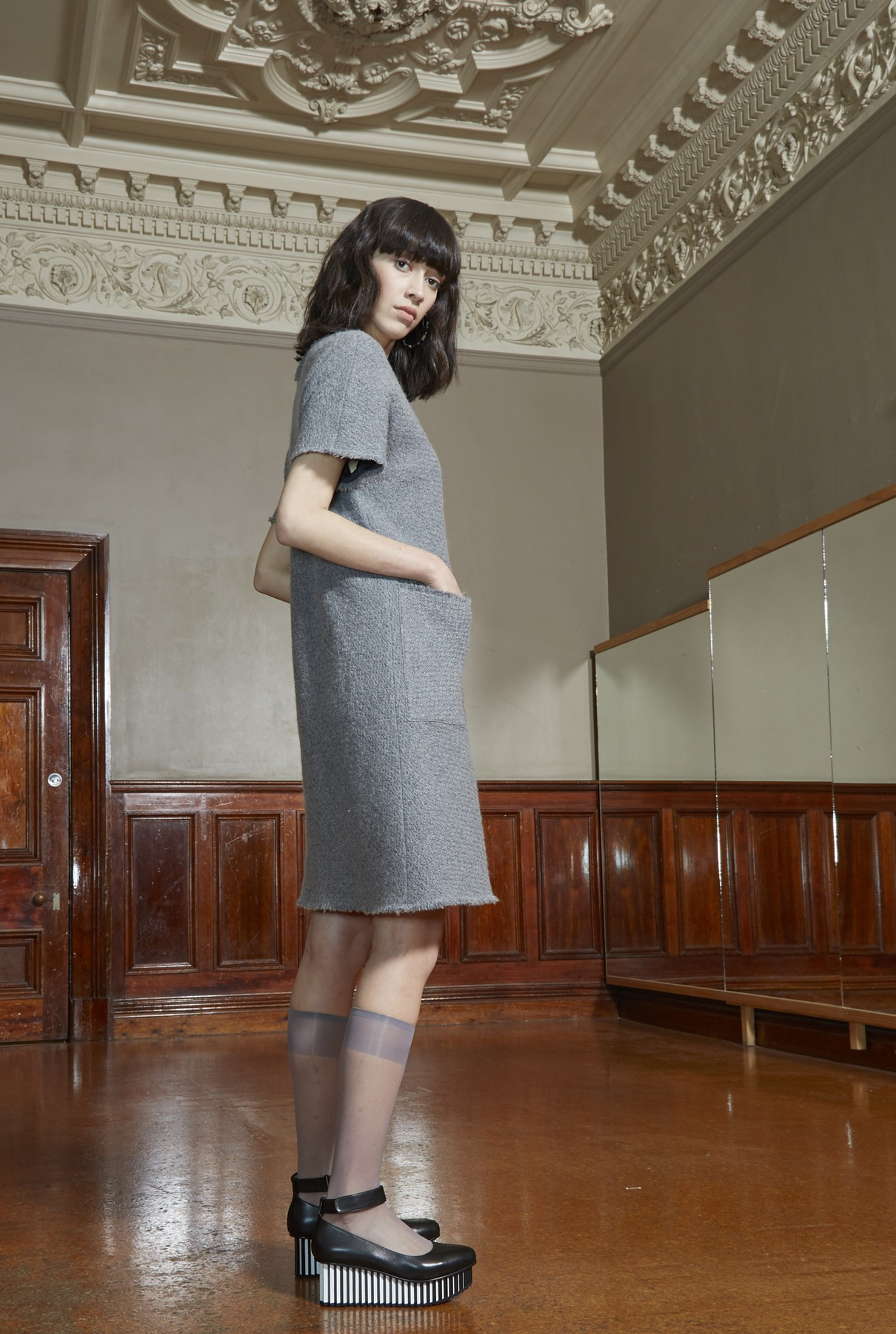 frost dress/soft grey