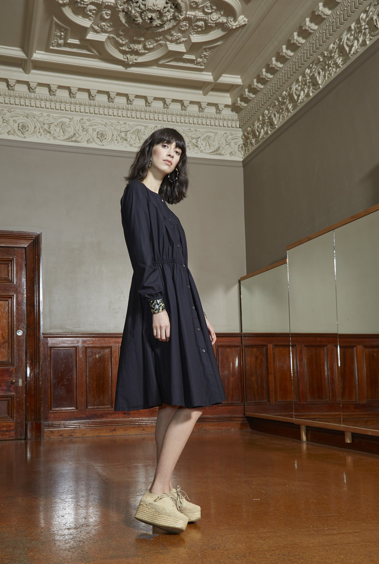 high noon dress/black