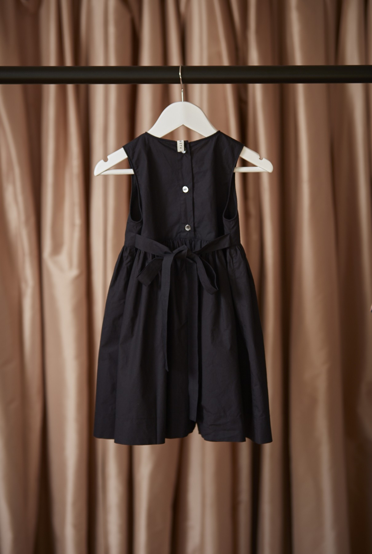 Clementine dress/navy - back